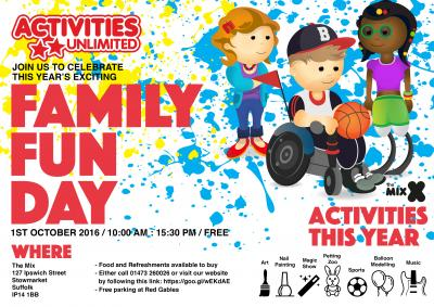 Activities Unlimited Fun Day 2016