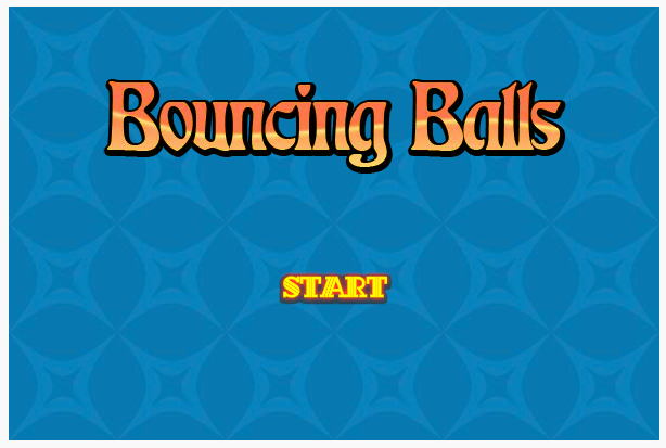 Bouncing Balls game screenshot